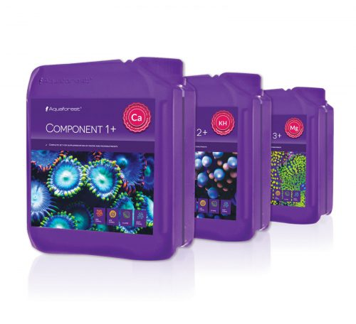 Aquaforest Component 1+, 2+, 3+  3x5l 15000ml