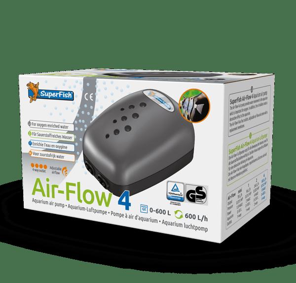 SuperFish Luchtpomp airflow 4 way