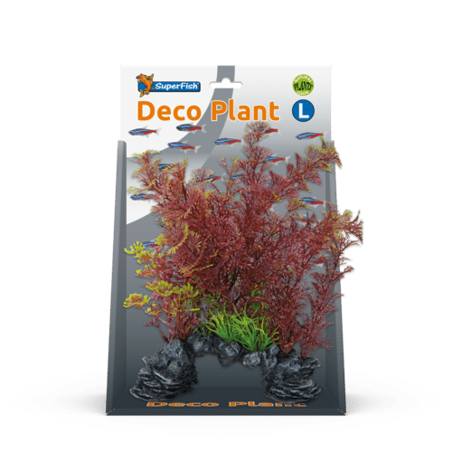 SF DECO PLANT L CABOMBA RED