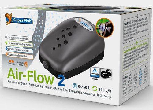 SuperFish Luchtpomp airflow 2 way