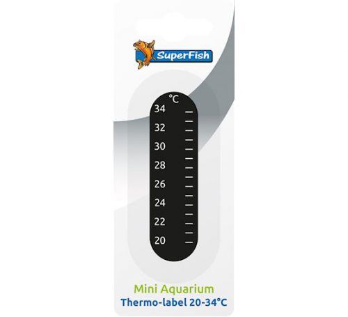 SF PLAKTHERMOMETER 20-34 °C.