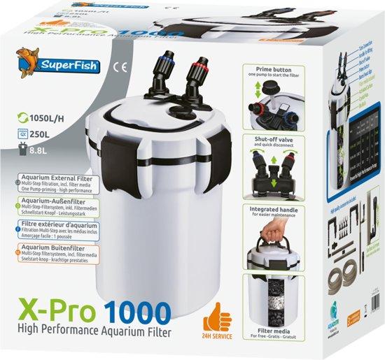 SUPERFISH X PRO 1000 (250L)