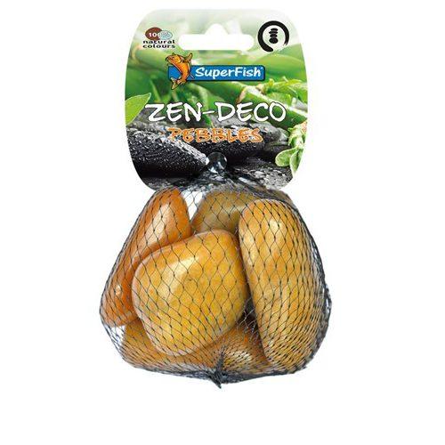 Superfish Zen pebble geel Medium 5 stuks