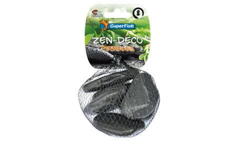 Superfish Zen pebble zwart Medium 5 stuks